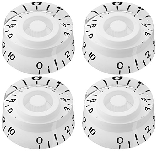 4pcs SG-335 Speed Control Knobs White for Gibson Les Paul Replacement Electric Guitar -