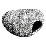 Forfar Aquarium Cichlid Stone Cichlid Stone Ceramic Rock Cave Aquarium Fish_Tank Pond Ornament Decoration Shri