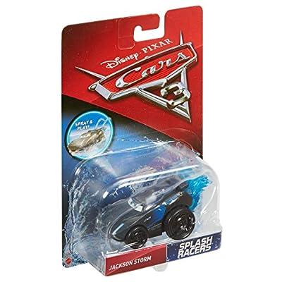 Disney Pixar Cars 3 Splash Racers Jackson Storm Vehicle: Toys & Games