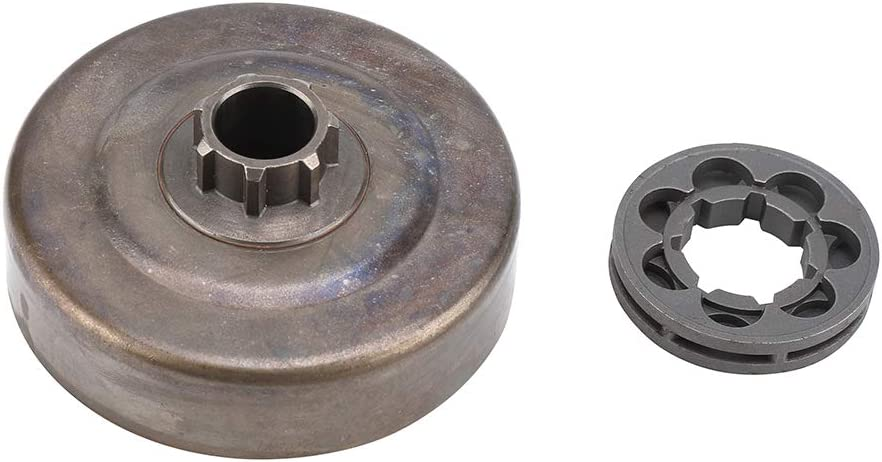 Clutch Drum + Sprocket Rim for Stihl 017 018 021 MS170 MS180 MS250 Chainsaw Part Patio Lawn Garden