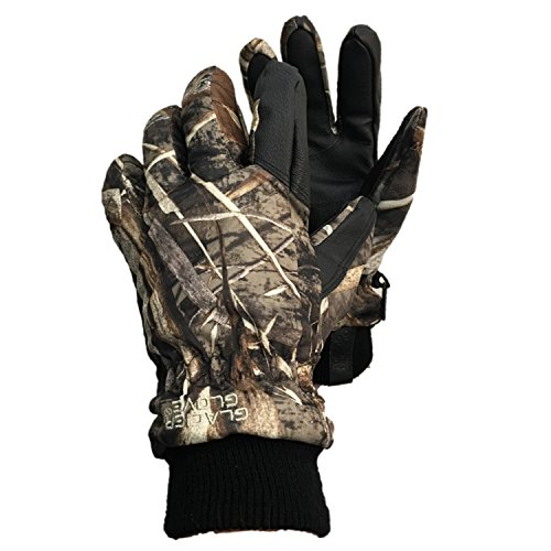 Glacier Glove Alaska Pro Camo Waterproof Insulated Glove, Advantage, Large