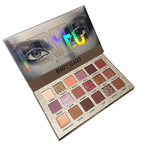 JPJ(TM) ❤️Eye Shadow ❤️Girl Sexy Charming Shimmer Glitter Eye Shadow Powder Palette Matte Eyeshadow Cosmetic Makeup (Multicolor)