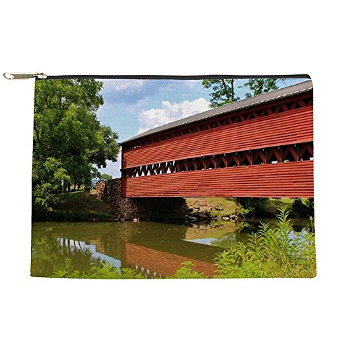 CafePress - Sach's Covered Bridge, Gettysburg, PA - Makeup Pouch (Bridge Covered Pa)
