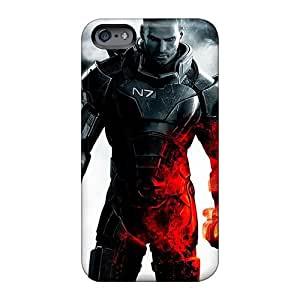 Excellent Hard Phone Covers For Apple Iphone 6s Plus (MNH3942eJTh) Support Personal Customs Colorful Mass Effect 3 Commander Shepard Pictures