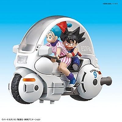 Bandai Model Kit 16392–55208Dragon Ball Mecha Collection–01Bulma Cap Motorcycle: Toys & Games