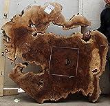 Claro Walnut Burl Wood Slab Natural Live Edge Tabletop Highboy Table Coffee Reception Top Vanity Headboard Custom Wooden Furniture 4572x1