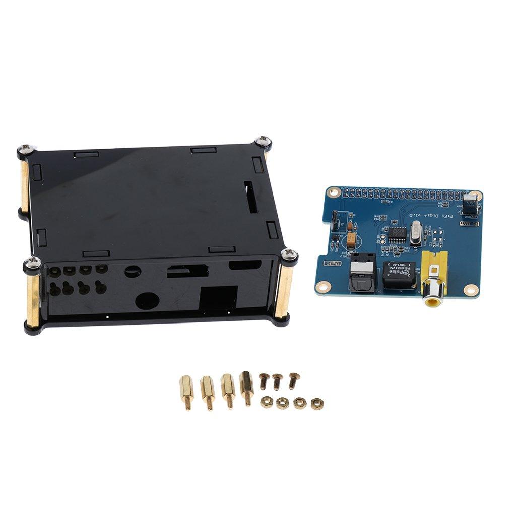 Baosity HIFI DiGi Pro Digital Sound Card Board,I2S SPDIF Optical fiber interface for Raspberry