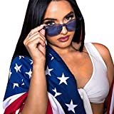KCPer Fashion Men Womens Vintage Round Frame UV Protection Glasses Retro Unisex Square Oversized Butterfly Sunglasses Outdoor (Blue)