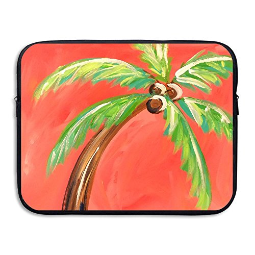 Business Briefcase Laptop Sleeve Beach Palm Case Cover Handb