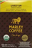 Marley Coffee Lively Up K-Cup Pods, Dark Roast Espresso, 12 Count