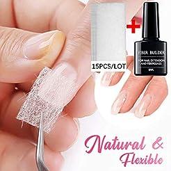 Fiberglass Nail Extension Poly Gel Kit,F...