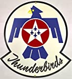 home is where the air force sign - USAF Thunderbirds Logo Metal Sign