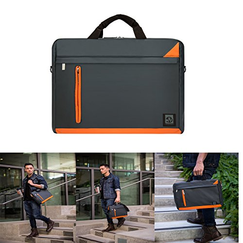 Vangoddy Laptop Sleeve Shoulder Bag Messenger Bag Briefcase for Fujitsu Lifebook / Samsung Notebook 5 / Notebook 7 / Notebook 9 Pro (Fujitsu Cover Hdd)