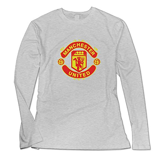Women's Manchester United FC Logo Long Sleeved Shirt.