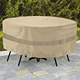 SunPatio Outdoor Table and Chair Cover, Waterproof