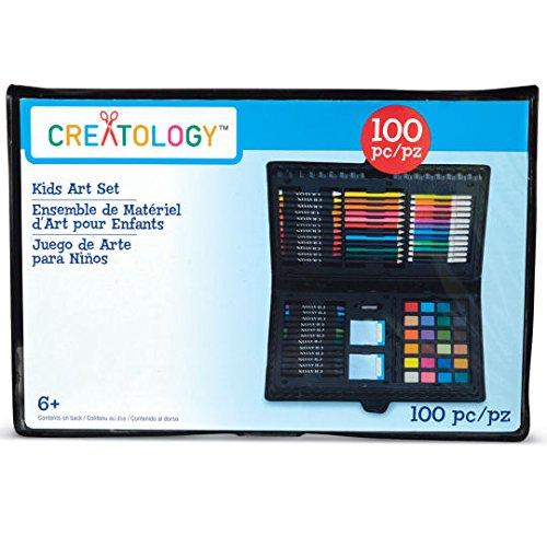 Kids Art Set, 100 Piece by Creatology -