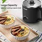Topwit Electric Hot Pot, Mini Ramen Cooker, 1.6L