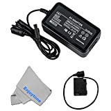 Fomito EH-5 AC Power Adapter + EP-5B DC Coupler Charger Kit for Nikon 1 V1, D500, D600, D610, D750, D800, D810, D7000, D7100, D7200 DSLR Cameras (EP-5B Replace EN-EL15)