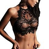 Women Lace Flowers Lingerie, NDGDA Sexy Lingerie Push Up Top Bra Underwear Nightwear Clearance Sale