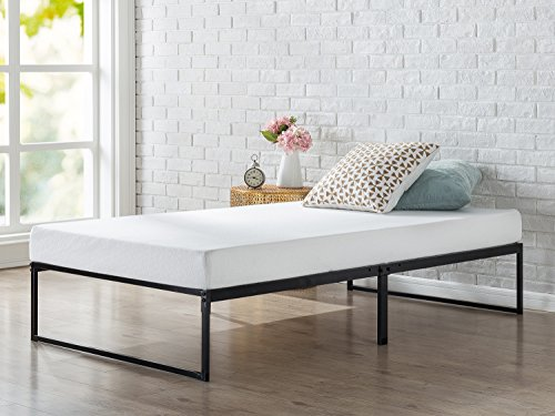 Zinus 12 Inch Platforma Bed Frame, Mattress Foundation, No Box Spring needed, Metal Slat Support, (Platform Beds Box Springs)