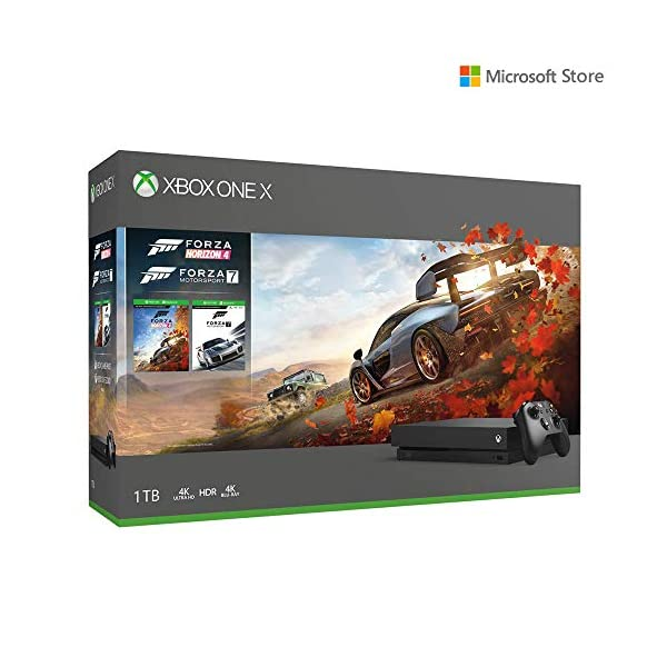 Microsoft 1TB Xbox One X Console (Free Games: Forza Horizon 4 and Forza Motorsport 7 Bundle)