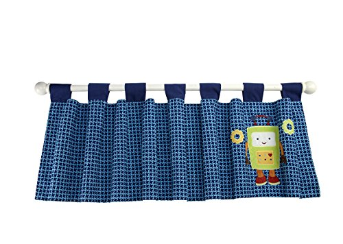 NoJo Baby Bots Window Valance