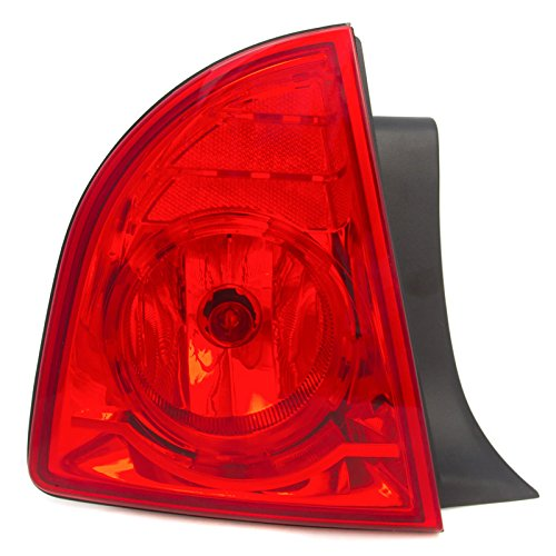 CarPartsDepot Rear Bumper Brake Light Lamp Left Side Fit 08-12 Chevy Malibu 4DR GM2800224