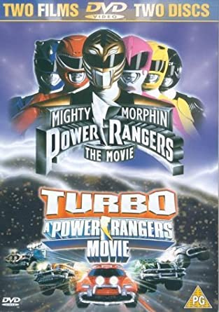 Power Rangers - The Movie/Turbo - A Power Rangers Movie [DVD] by