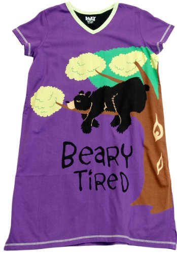 Beary Tired Nightshirt Leisure Wear Bear