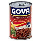 Goya Red Kidney Beans Guisadas 15.0 oz(Pack of 6)