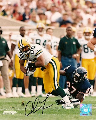 (Autographed Signed Antonio Freeman Green Bay Packers 8x10 Photo - Certified Authentic)