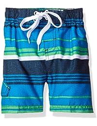 Kanu Surf Boys' Porta Stripe Swim Trunk
