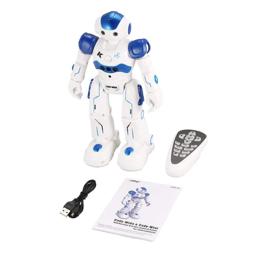 Jiobapiongxin JJR   C R2 Tanzen Roboter Intelligente Gestensteuerung RC Roboter Spielzeug Blau Rosa für Kinder Kinder Geburtstagsgeschenk USB ... JBP-X B07N4K981D Roboter Qualität | Günstige Preise