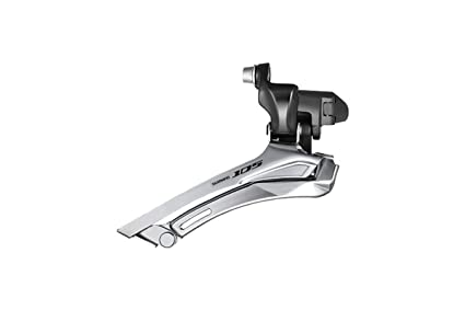 71f99dac9f7 Image Unavailable. Image not available for. Color: Shimano 105 FD-5700 105  10-speed front derailleur, double 28.6 / 31.8