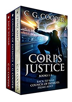 The Corps Justice Series: Books 1-3 (The Corps Justice Series Box Set) by [Cooper, C. G.]