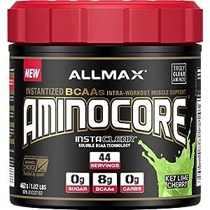 ALLMAX Nutrition AminoCore BCAAs, Key Lime Cherry, 462 g