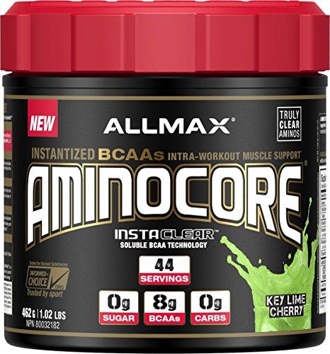 AllMax Nutrition Aminocore Instantized BCAA Key Lime Cherry 462 Grams