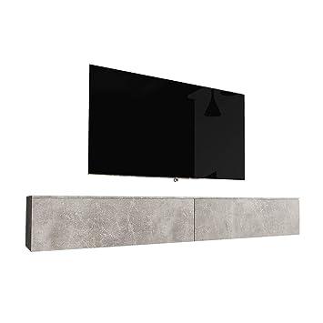 Selsey Kane - Mueble de TV para Colgar en la Pared (180 cm), Color ...