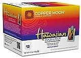 hawaiian coffee cup - Copper Moon Single Cups for Keurig K-Cup Brewers, Hawaiian Hazelnut, 12 Count, Medium Roast Flavored Coffee, Balanced and Smooth with Hazelnut Flavor, Single-Serve Coffee Pods
