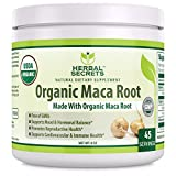 Cheap Herbal Secrets USDA Certified Organic Maca Root Powder 8 oz 4.5 Servings *Free of GMO's, Raw, Vegan, Promotes Reproductive Health and Supports Cardiovascular & Immune Health *