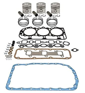 Amazon com: FORD INFRAME DIESEL ENGINE OVERHAUL KIT 4 4 201