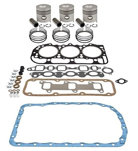 FORD 555 550 BACKHOE INFRAME DIESEL ENGINE OVERHAUL KIT 4.4 201 CID