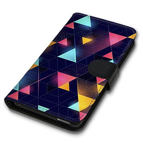 Wallet Book Style Flip Handy Tasche Case Schutz Hülle Schale Motiv Etui für Apple iPhone 6 Plus / 6S Plus - Design Flip MVD230