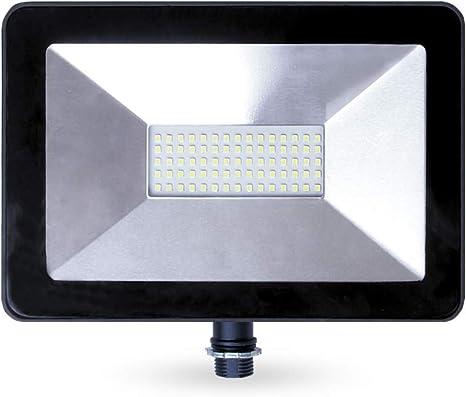 50W LED Slim Floodlight PIR Motion Detector Sensor SMD Outdoor Garden Security
