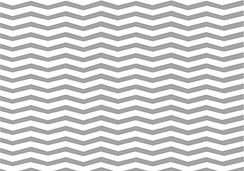 (Laeacco Chevron Pattern Backdrops 7x5ft Vinyl Photography Background White and Gray Stripes Lines Phtoto Studio Backdrop Broken Lines Backdrop Wallpaper Party Decoration )