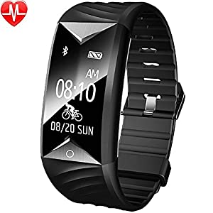 51bmGJZ8MFL. SS300 Willful Orologio Fitness Tracker Watch Braccialetto Cardiofrequenzimetro da Polso Smartwatch Impermeabile IP67 Donna…