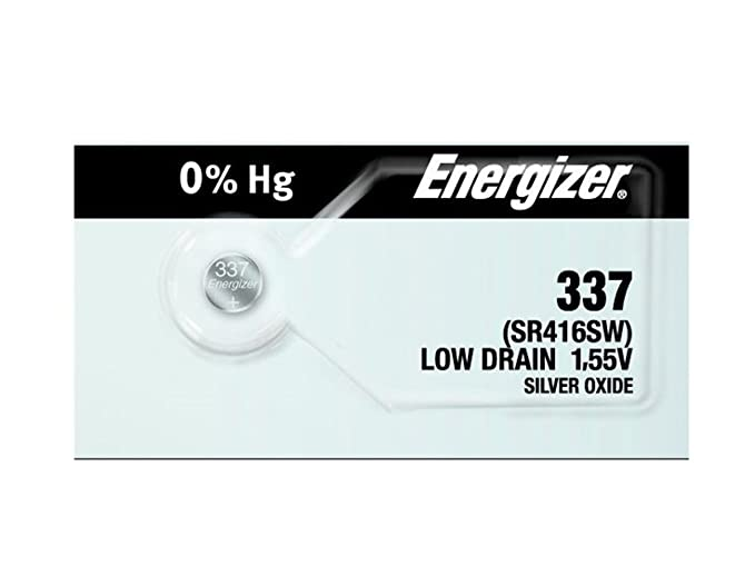 Amazon Energizer 337 Button Cell Battery Watches