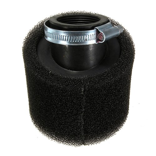 Funnytoday365 38Mm Pit Dirt Bike 45 Degree Double Foam Angled Air Filter 110Cc 125Cc Crf Black