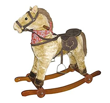 Cavallo A Dondolo Con Ruote.Tachan Cavallo A Dondolo Con Ruote Cpa Toy Group 2021 W Amazon