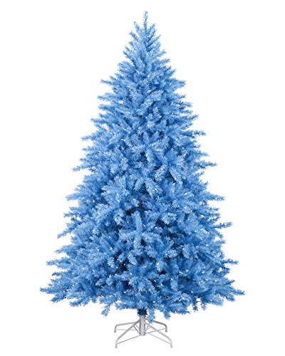 Treetopia Baby Blue Christmas Tree, 6 Feet, Clear Lights